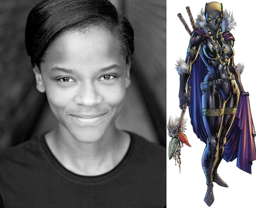 News Le R 244 Le De Letitia Wright Dans Quot Black Panther Quot Est