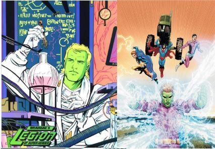 Kajz Dox a eu un fils Querl Dox ( Brainiac 5). Comme son père, il est devenu scientifique et sa blouse est son costume.