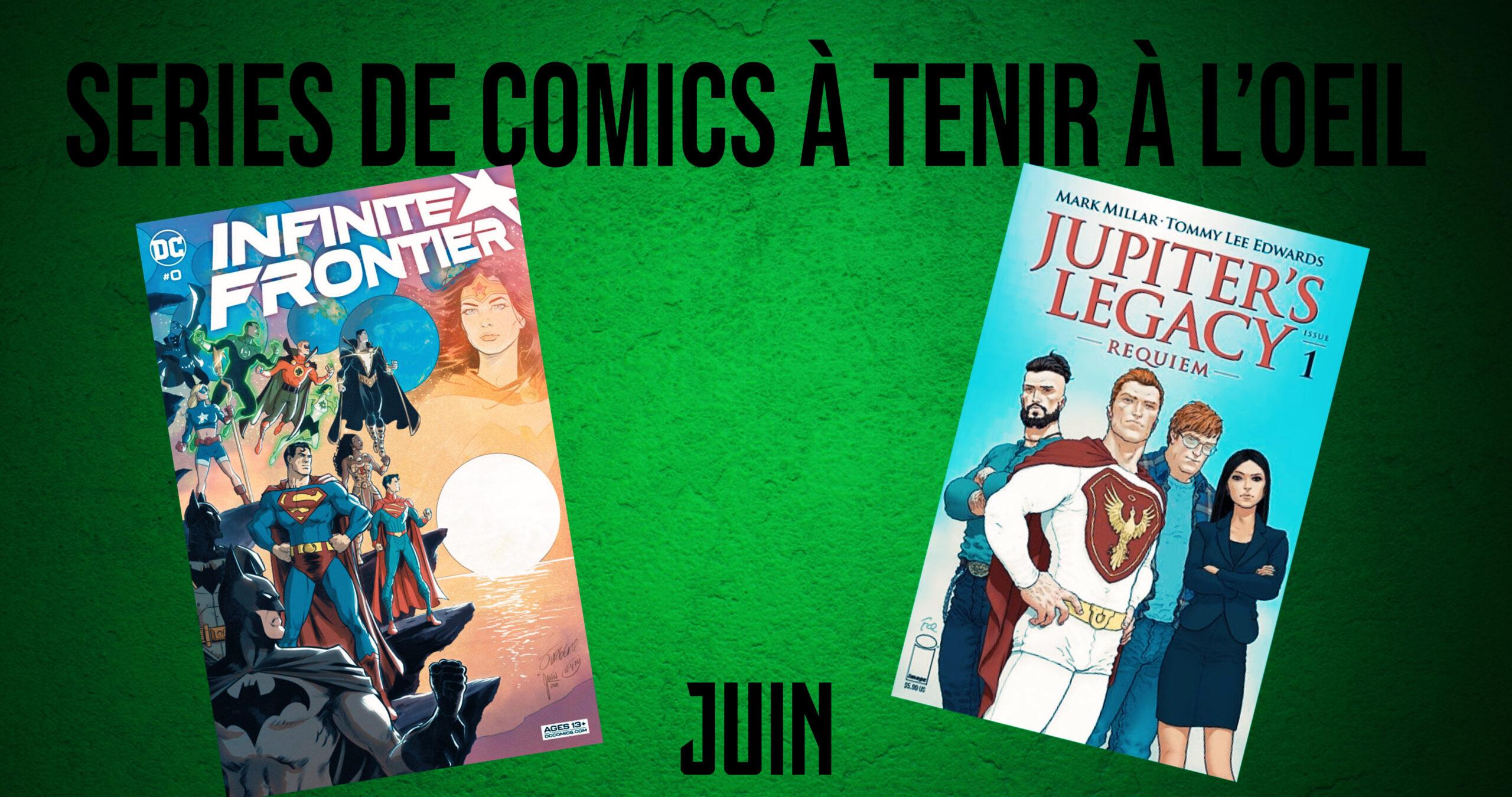 5 séries de comics à tenir à l'oeil (sorties VO juin 2021)