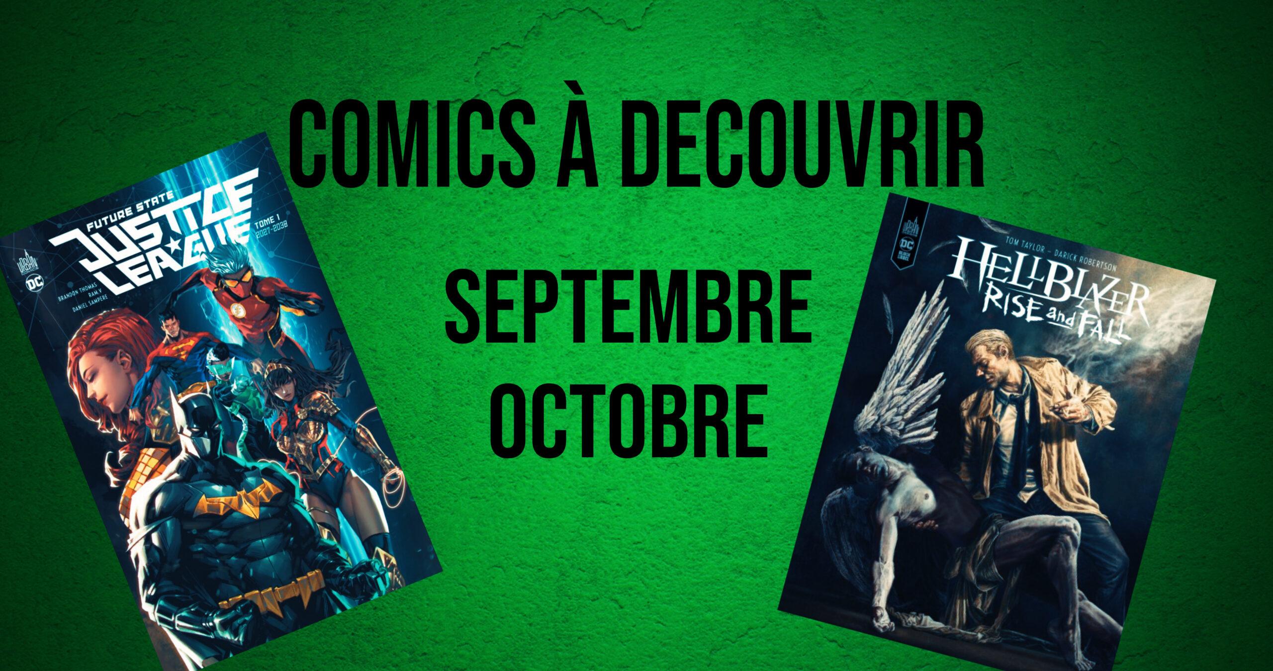 5 comics à découvrir (édition septembre-octobre 2021)